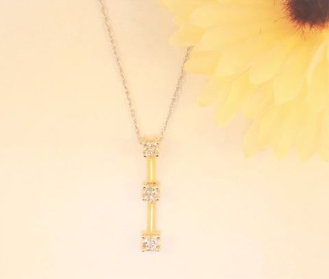 14KT Diamond Necklace