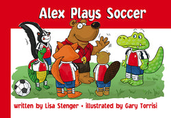 Alex Plays Soccer