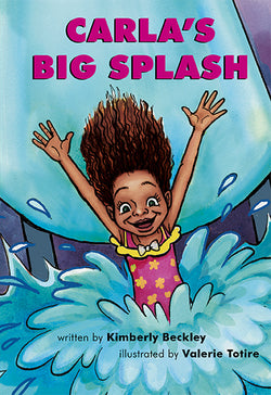 Carla's Big Splash