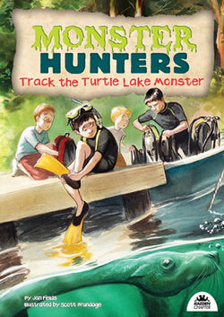 Track the Turtle Lake Monster