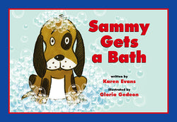 Sammy Gets A Bath