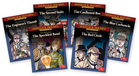 Sherlock Holmes Graphic Mysteries Books 1-6