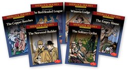 Sherlock Holmes Graphic Mysteries Books 7-12