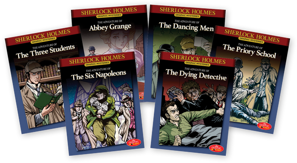 Sherlock Holmes Graphic Mysteries Books 13-18