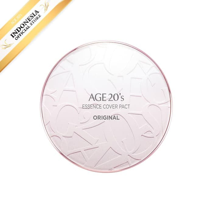 AGE 20'S ESSENCE COVER PACT ORIGINAL PINK LATTE #23