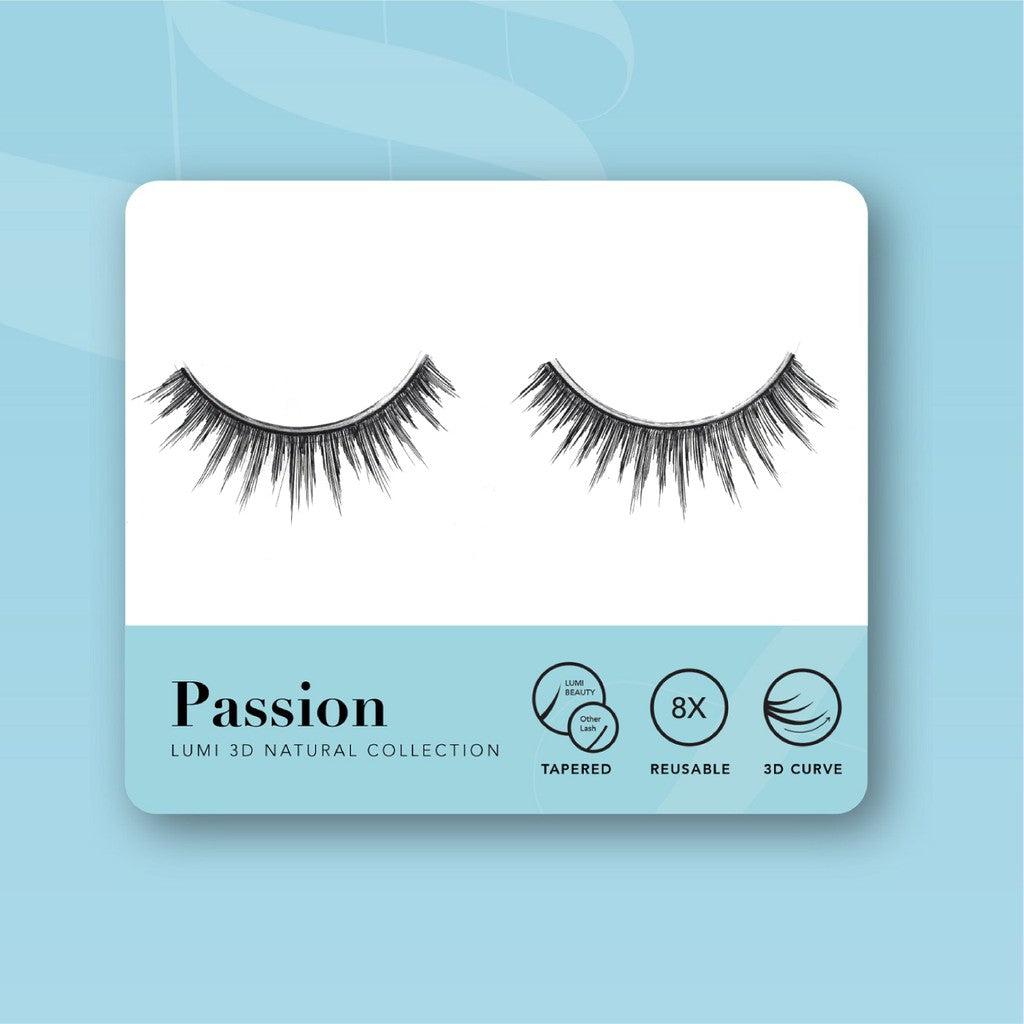 Lumi Beauty Eyelash Bulu Mata Palsu -  Passion