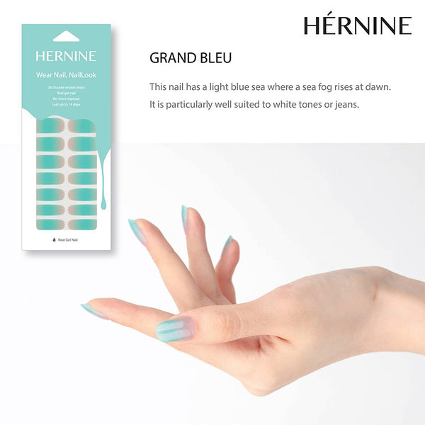 HERNINE GEL NAIL STICKER (GRAND BLEU)