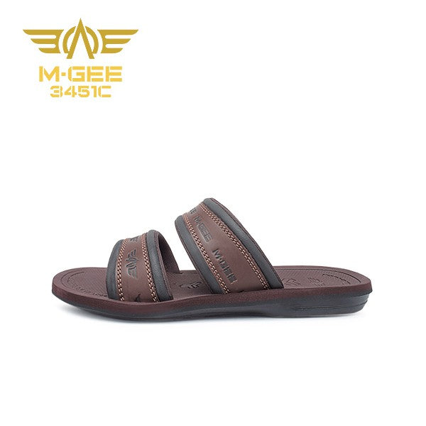 Mgee Men Santana Sandal Casual - Coffee