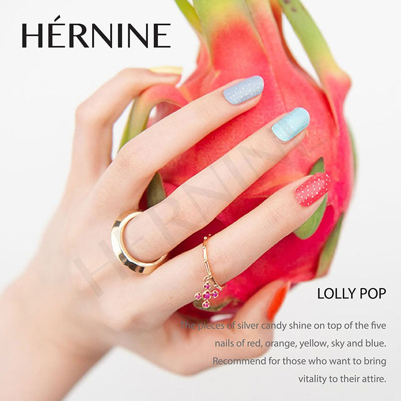 HERNINE GEL NAIL STICKER (LOLLYPOP)