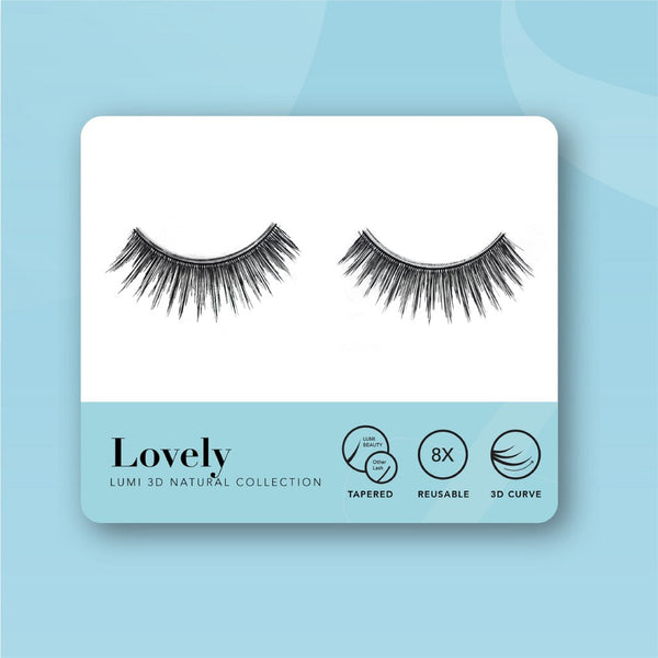 Lumi Beauty Eyelash Bulu Mata Palsu - Lovely