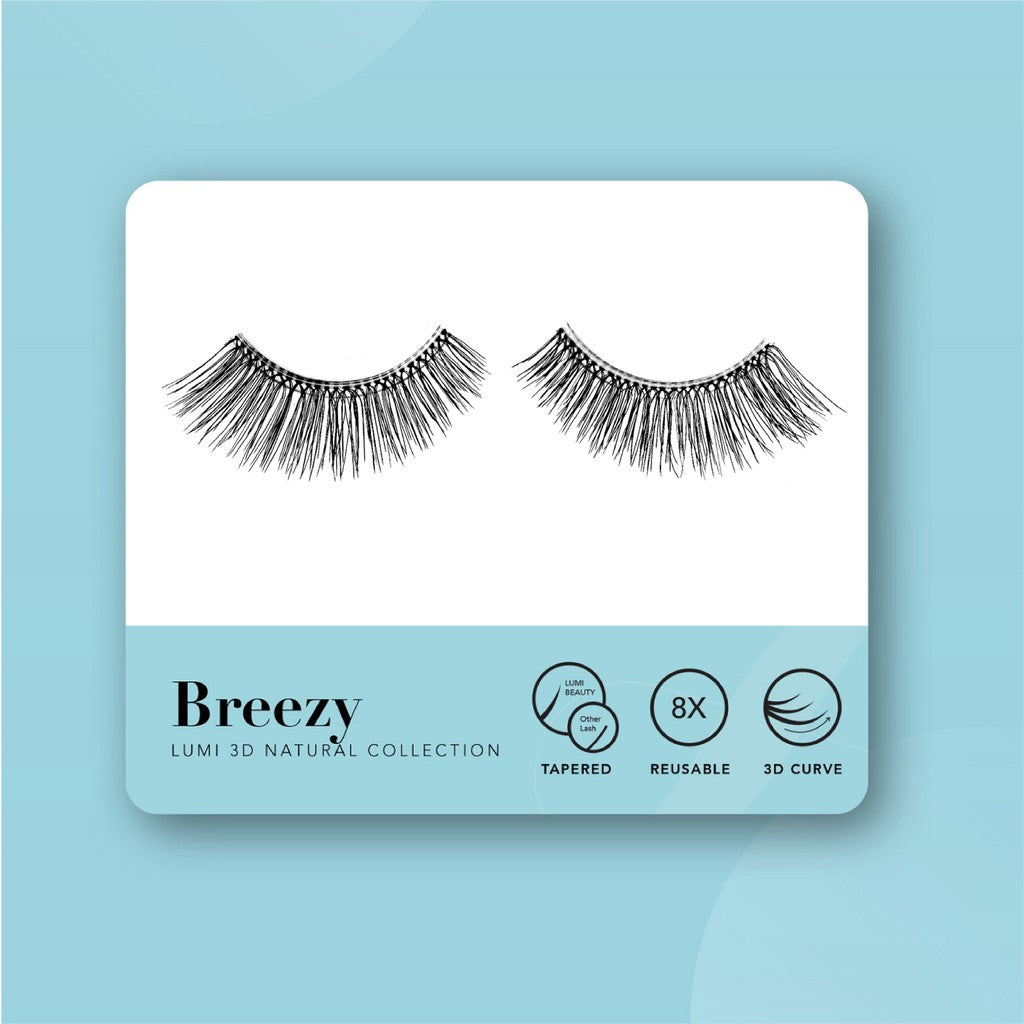 Lumi Beauty Eyelash Bulu Mata Palsu - Breezy