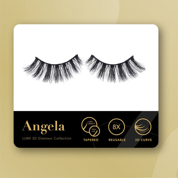 Lumi Beauty Eyelash Bulu Mata Palsu - Angela