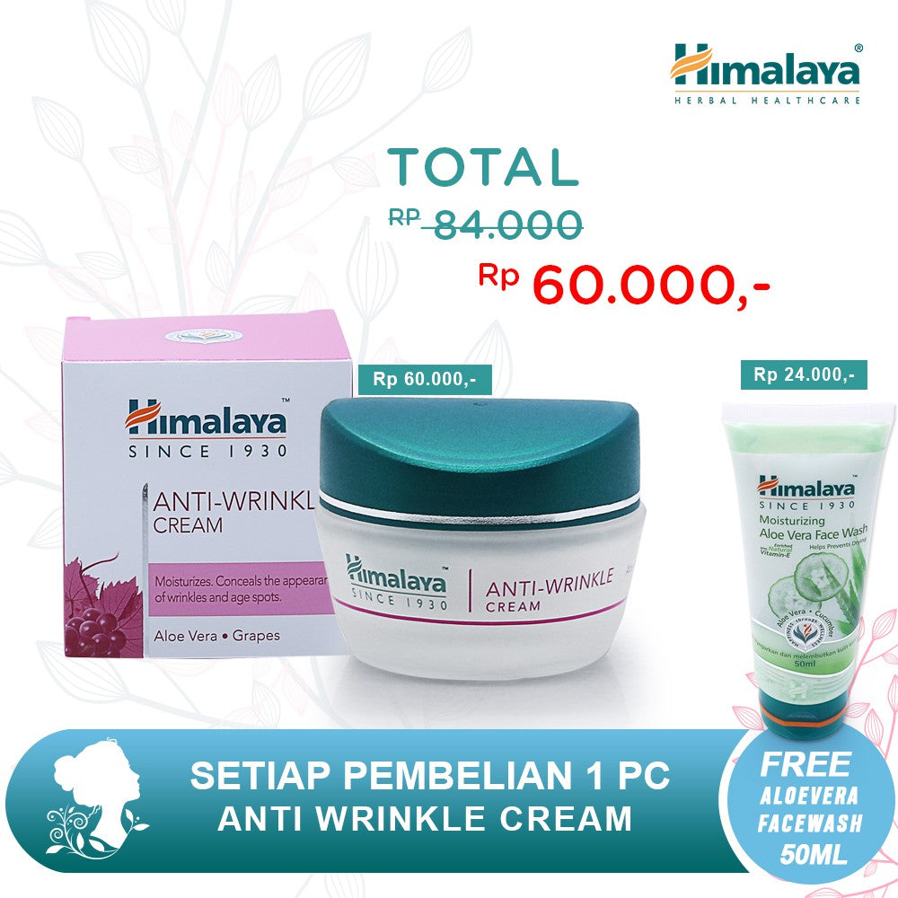 Himalaya Anti-Wrinkle Cream 50Gr