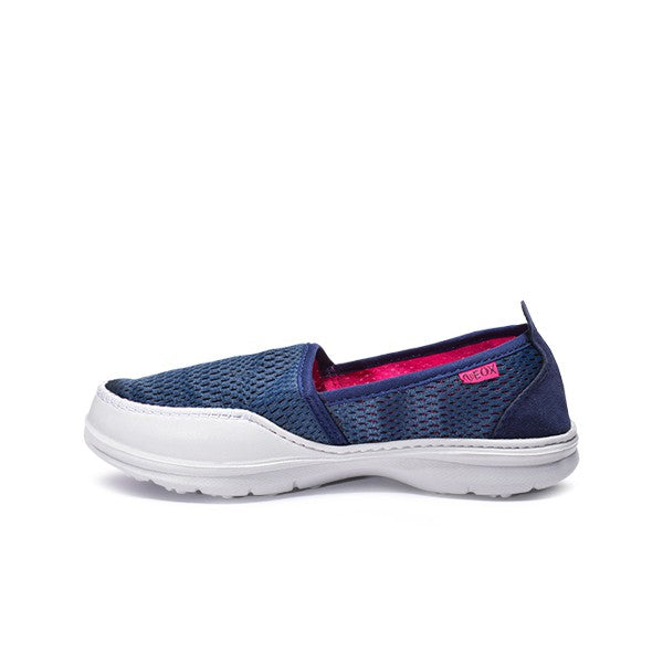 Neox by Ardiles Women Narcissa Sepatu Slip On Biru