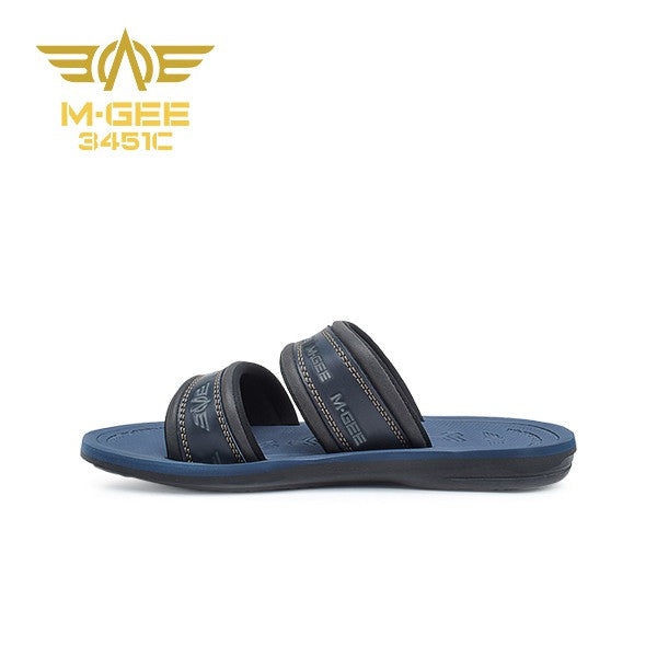Mgee Men Santana Sandal Casual - Royal Blue