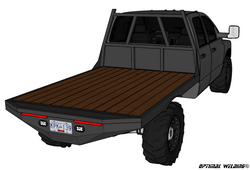 03-14 DODGE LONG BOX SRW FLATBED DECK PLANS