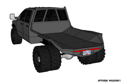 94-14 DODGE LONG BOX DRW OFF-ROAD DECK PLANS
