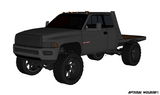 94-02 DODGE SHORT BOX SRW FLATBED PLANS