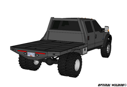 99-14 FORD LONG BOX DRW FLATBED DECK PLANS WITH CABINETS