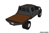 99-14 FORD SHORT BOX DRW FLATBED DECK PLANS