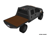 99-14 FORD SHORT BOX SRW FLATBED DECK PLANS