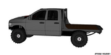 03-14 DODGE SHORT BOX SRW FLATBED DECK PLANS