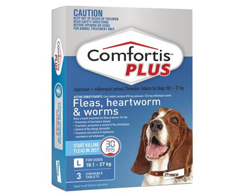 comfortis plus large blue 3 pack