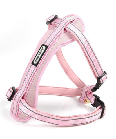 Dogness Reflective Dog Harness- Medium - Pink