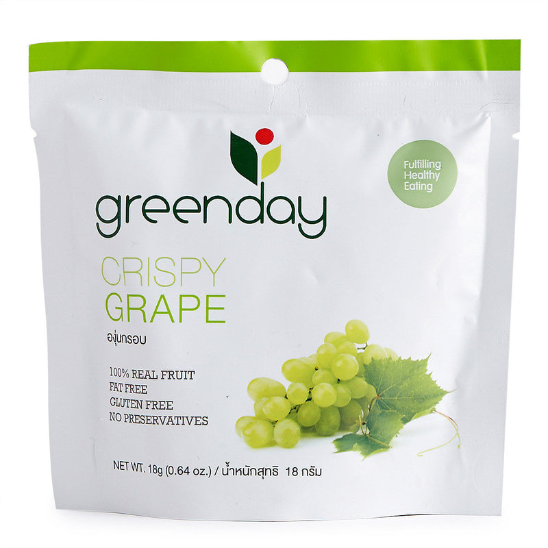 Green Day Dry Crispy Grape 18g