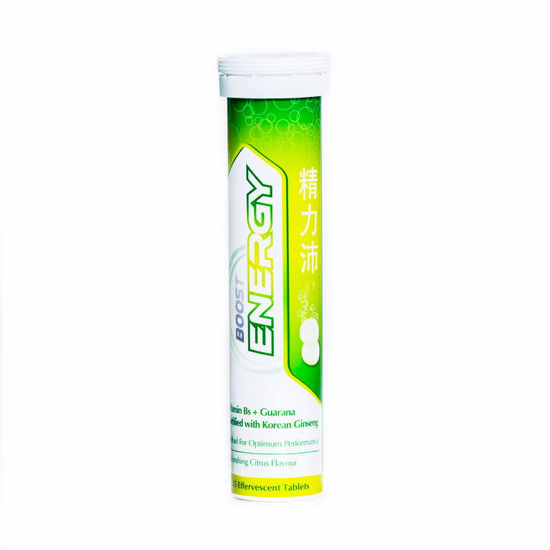 Boost Energy Effervescent (Tube)