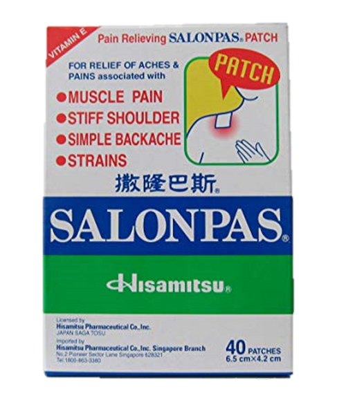 Salonpas Medicated plaster 40's