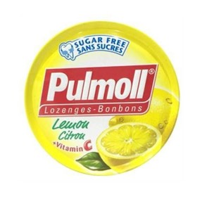 Pulmoll Lemon Mint + Vit C 45g