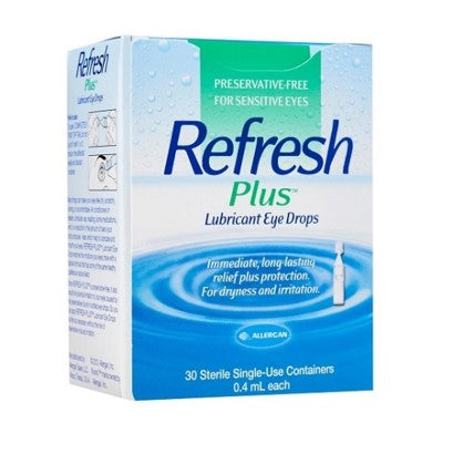 Refresh Plus Lubricant Eye Drops 30's