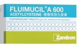 Fluimucil A 600mg