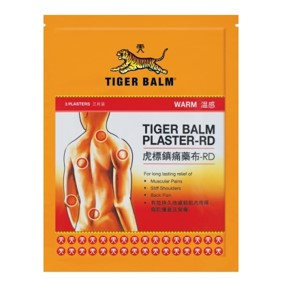 Tiger Balm Plaster Warm Small 3's