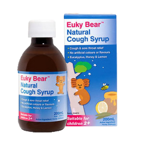 Euky Bear Natural Cough Syrup 200ml