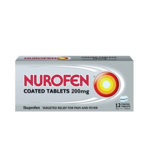 Nurofen Coated Tablets 200mg 12's
