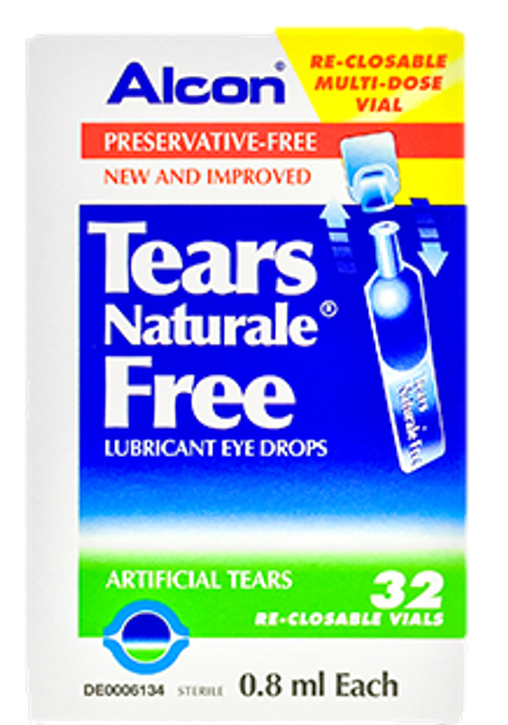 Tears Naturale Free 30's