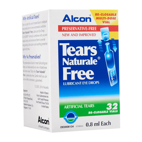 Tears Naturale Free Eye Drop 32's