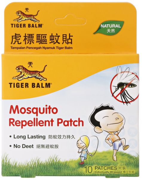 Tiger Balm Mosquito Patch 10's