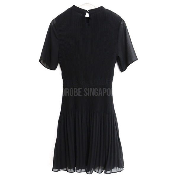 Korean Opel Chiffon Pleated Doll Dress