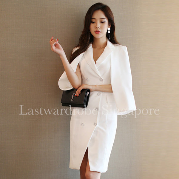 Korean Beverly Two Piece Suit