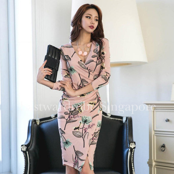 Korean Selina Slim Dress
