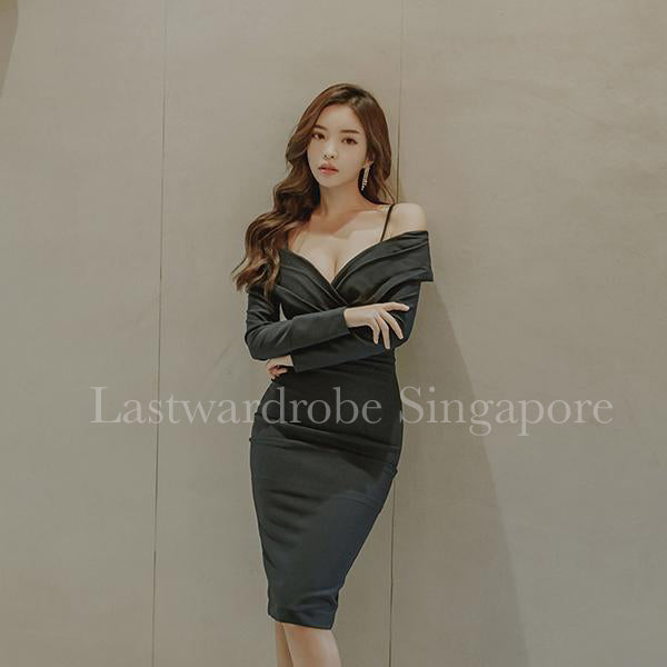 Korean Taylor Bodycon Pencil Dress