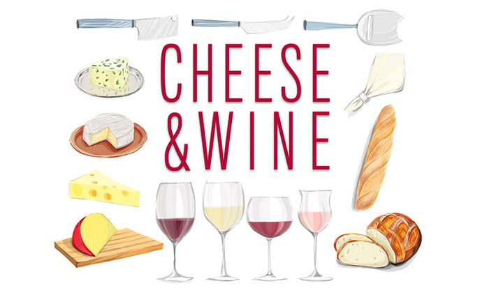 Three Keys for Enhancing the Enjoyment of Wine and Cheese