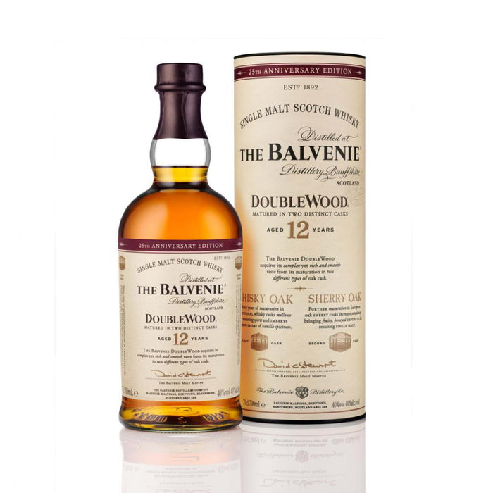 BALVENIE 12 YRS DOUBLE WOOD | 750 ML