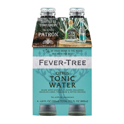 FEVER TREE CITRUS TONIC | 4PK