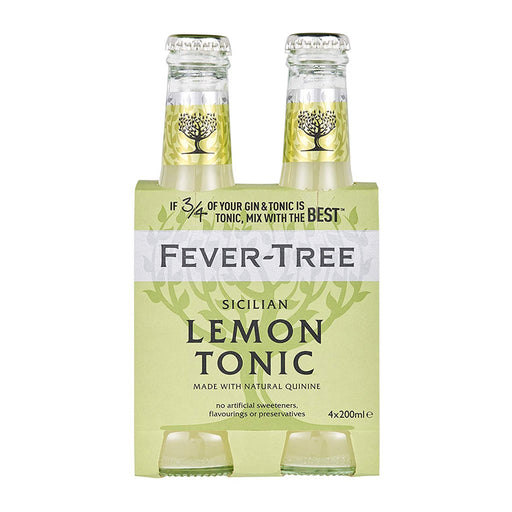 FEVER TREE BITTER LEMON TONIC | 4PK