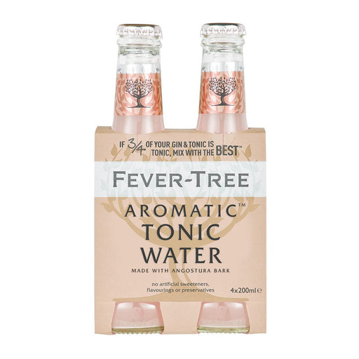 FEVER TREE AROMATIC TONIC | 4PK