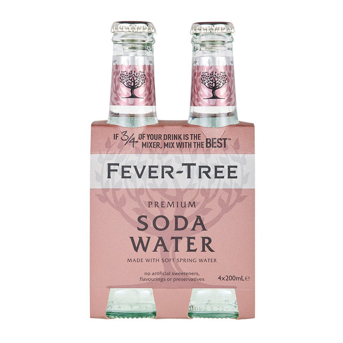 FEVER TREE CLUB SODA | 4 PK